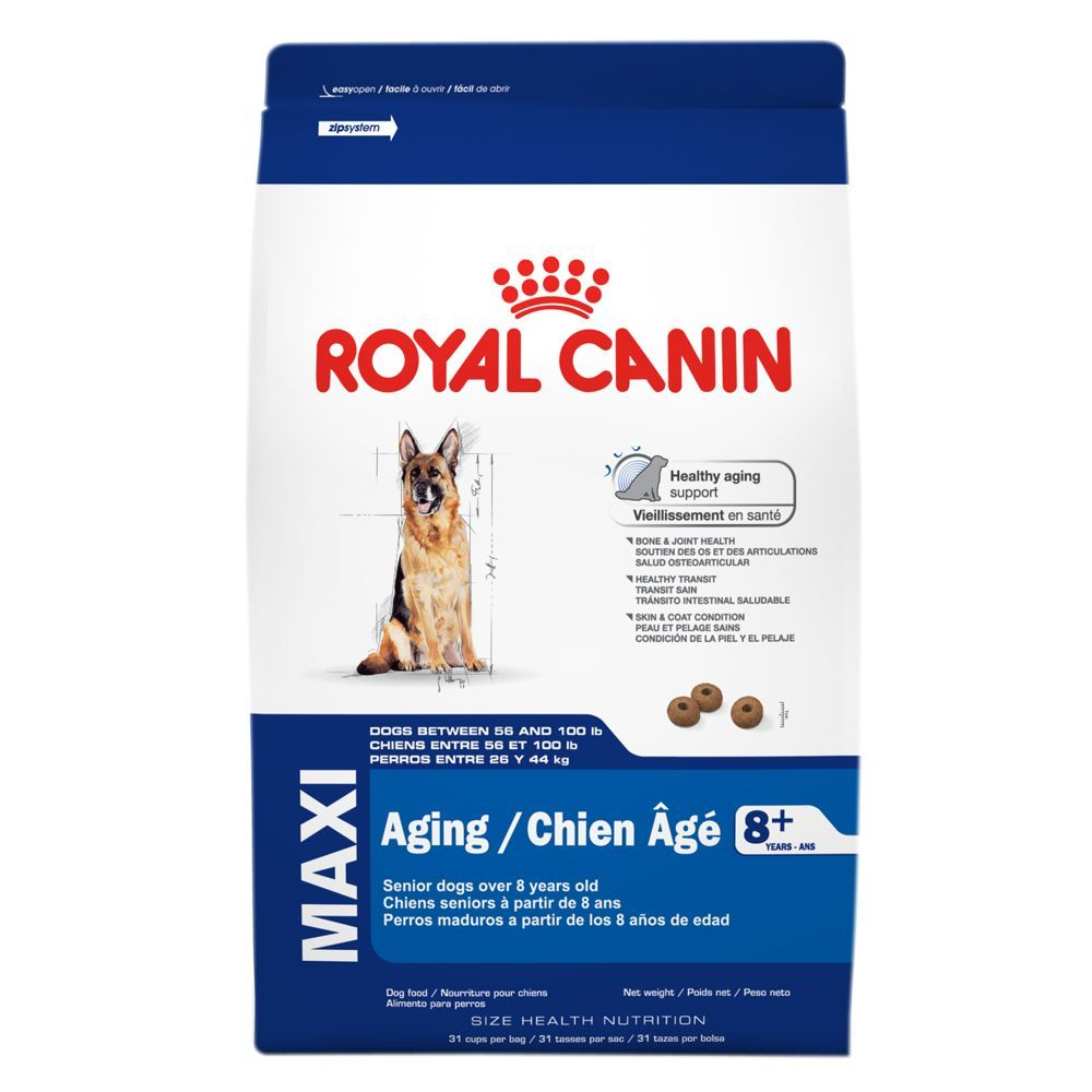 Royal Canin Size Health Nutrition Maxi Aging 8 Dog Food Size 30