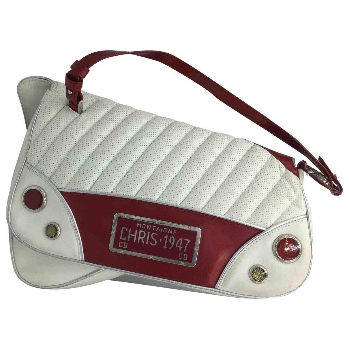 Cadillac Lederhandtasche Dior Weiß in Leder – 9241570   – Products