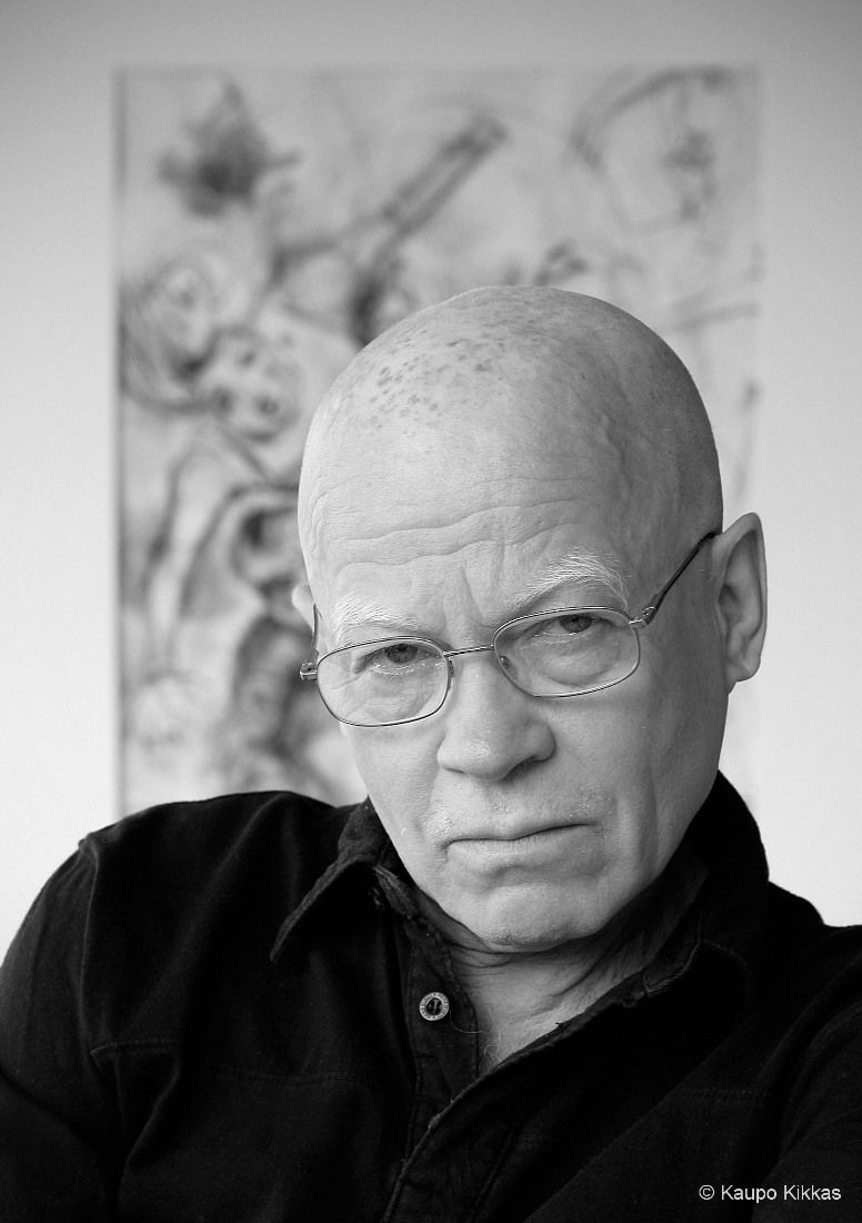 Priit Pärn (1946) - Estonian cartoonist and animation director whose films have enjoyed success among critics as well as the public at various film festivals. Photo by Kaupo Kikkas