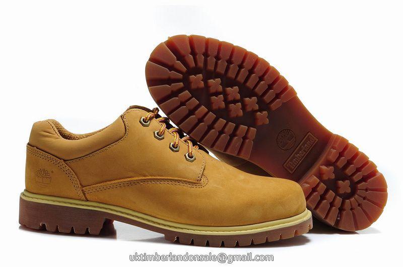 UK Timberland Men Waterproof Chukka Oxford Shoes Wheat On
