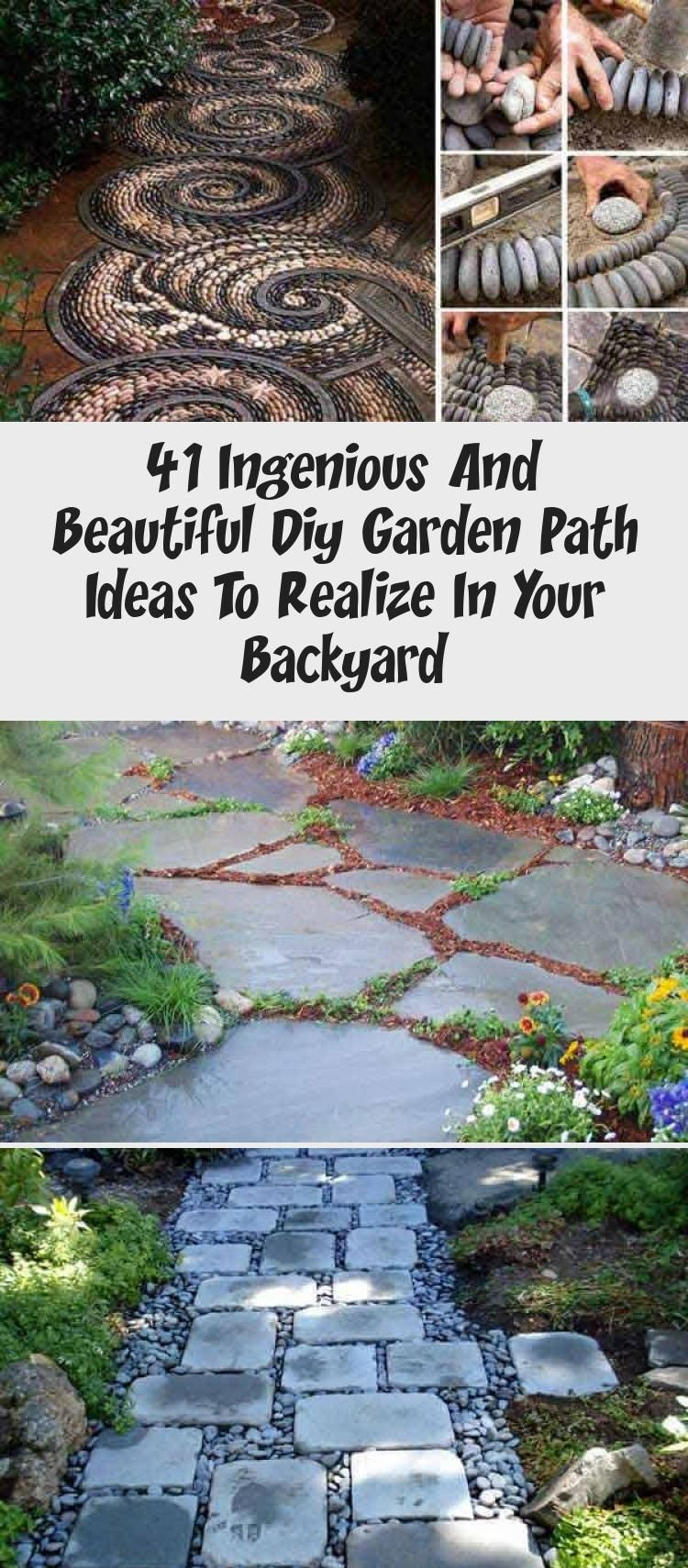 Photo of 41 Ingenious and Beautiful DIY Garden Path Ideas To Realize in Your Backyard hom…