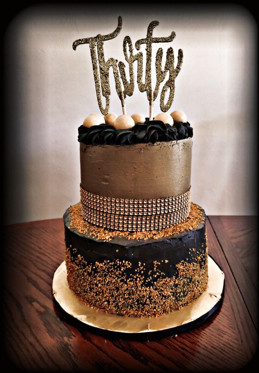 30th Birthday Cake in 2020 Cake, 30 birthday cake