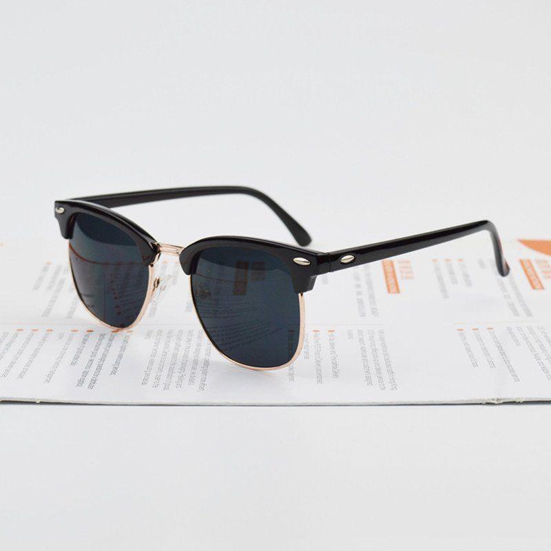 Black Gold Designer Sunglasses