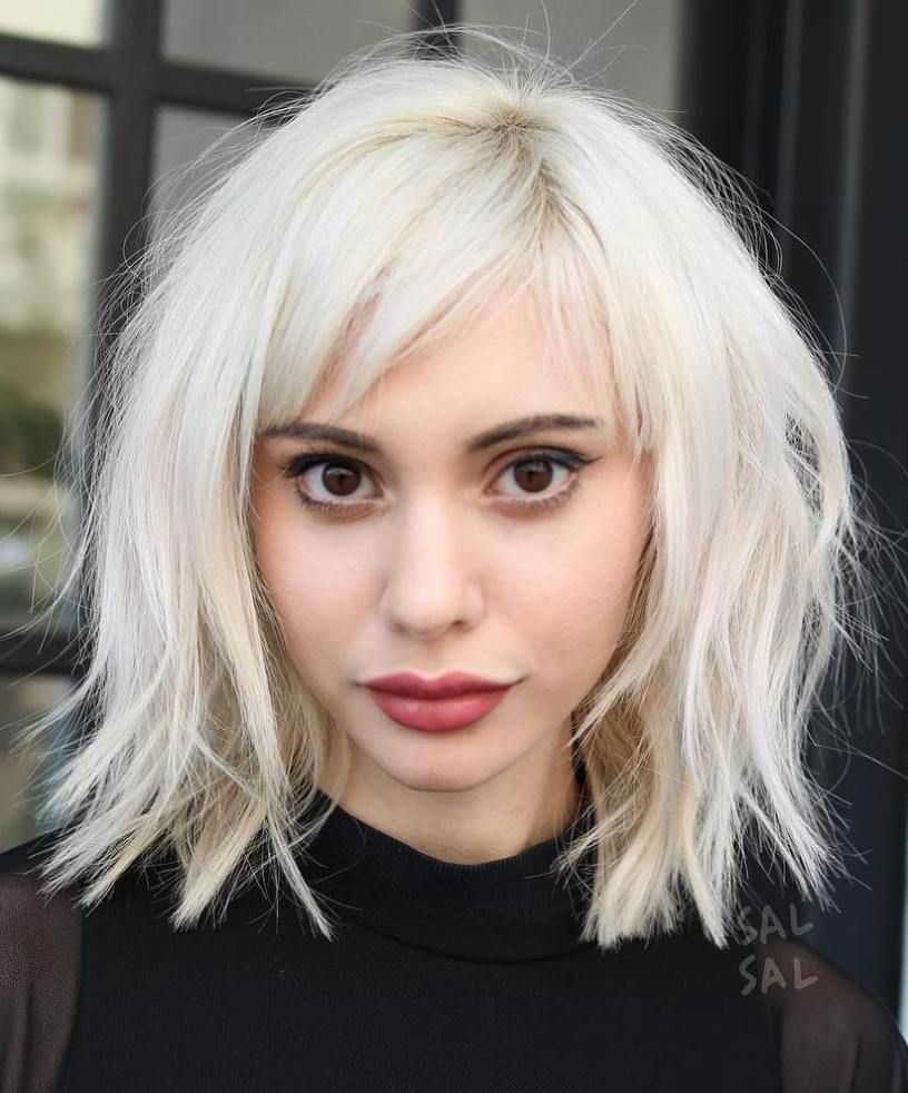 flattering haircuts and hairstyles for oval faces bangs bobs