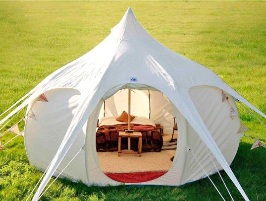 Lotus Belle Outback Tent Provides A Temporary Luxury Space With Multiple Purposes