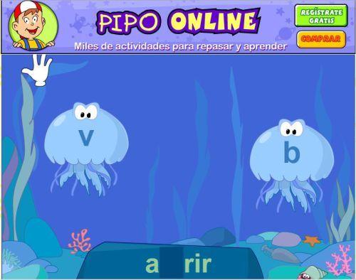 Juega Con Pipo Juegos Ortografia Ortografía Juegos