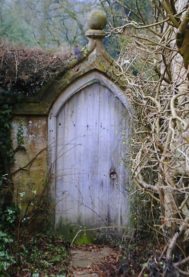 Mysterious Fairy Tail 20 Pics Garden Doors Beautiful Doors Unique Doors