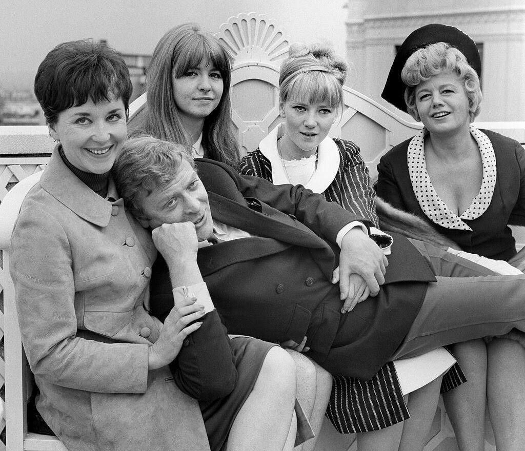 The Cast Of Alfie. 4 July 1965 Michael Caine, Vivien