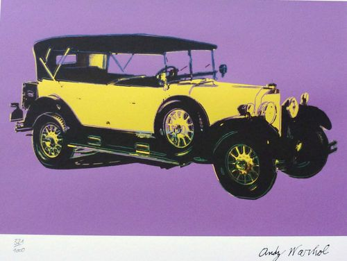 ANDY WARHOL - MERCEDES TYPE 400 1925