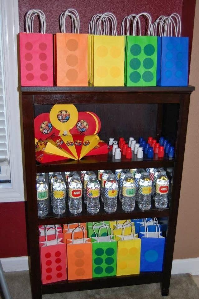 Lego decoraci n de fiestas de cumplea os fiestas - Decoracion fiestas cumpleanos ...