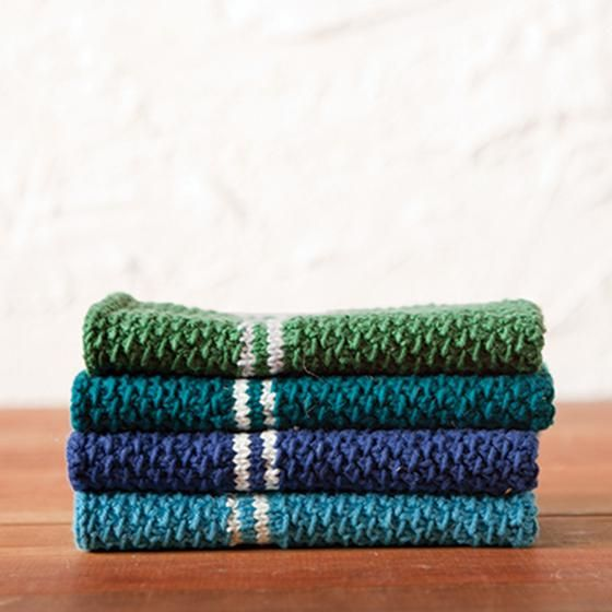 Dish Towel Set Pattern - Knitting Pattern Add a handmade touch to ...