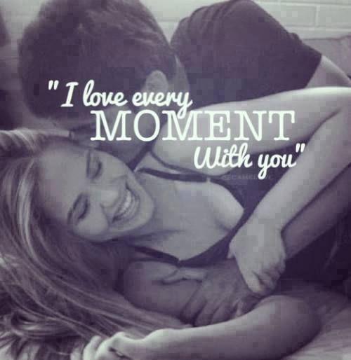 Yes pulkit i love each and every moment wth you.i love you so much.