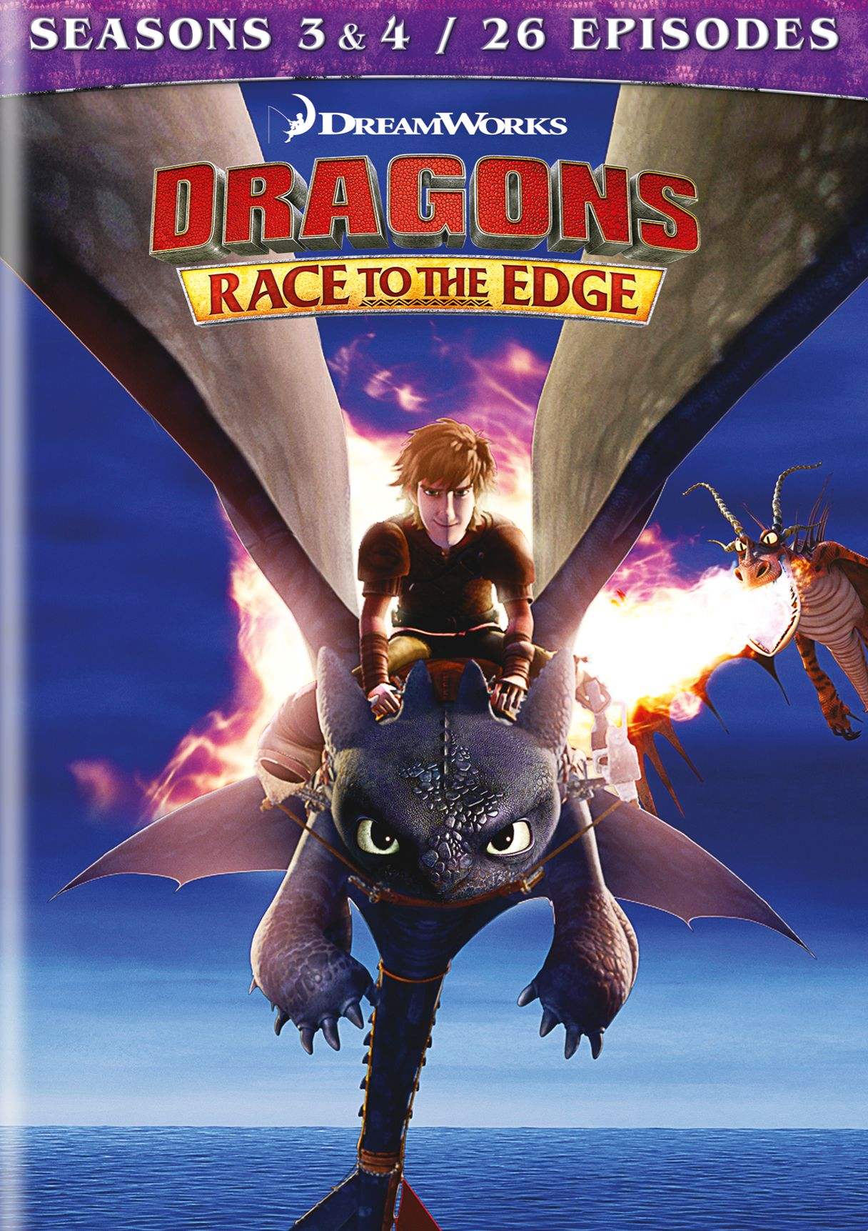 Dragons Race To The Edge Seasons 3 4 Dvd Best Buy In 2020 Dragons Edge How To Train Your Dragon Dreamworks Dragons