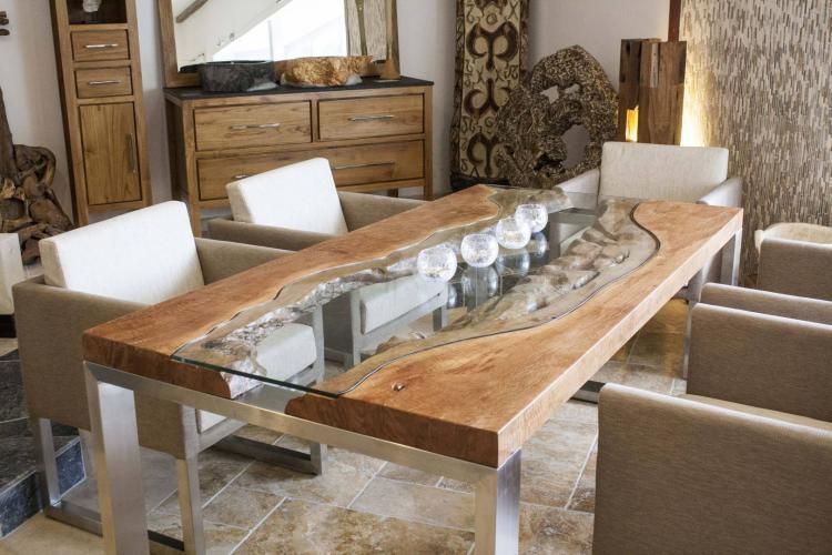 Awesome 46 Unordinary Wooden Dining Table Ideas More At Https