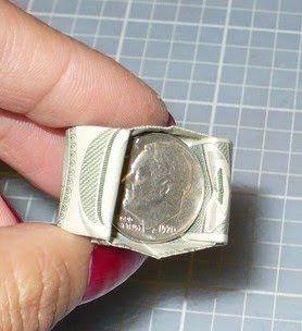 Money Ring - Make-Origami.com | 304x278