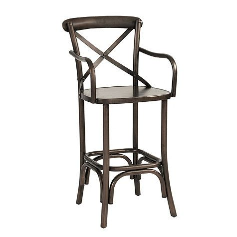 Constance Metal Counter Stool with Arms | Ballard Designs  sc 1 st  Pinterest & Constance Metal Counter Stool with Arms | Ballard Designs | Ash ... islam-shia.org