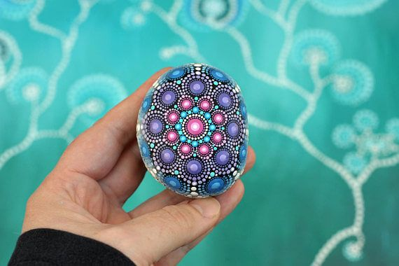 60+ DIY Mandala Stone Patterns is part of Mandala stones, Mandala, Stone pattern, Pebble painting, Dot art painting, Pebble art - The art of mandala stone doting is a great way to enjoy your crafting  Here is a list of pictures of beautiful mandala stone doting ideas