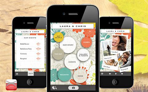 A new wedding app for the modern bride wedding app modern and a new wedding app for the modern bride junglespirit Choice Image