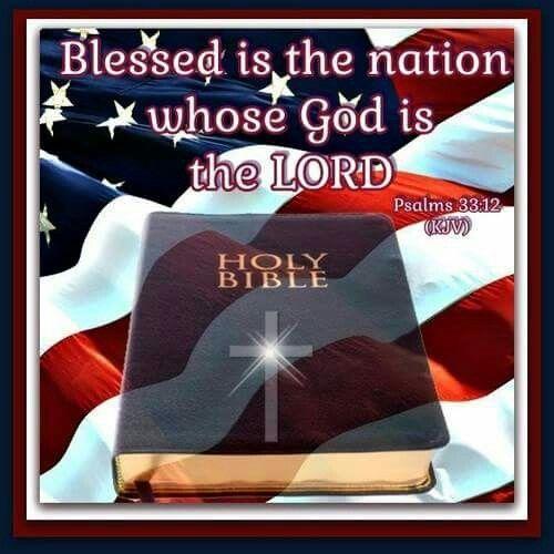 Psalm 33:12 KJV | Spiritual words, Kjv, God bless america