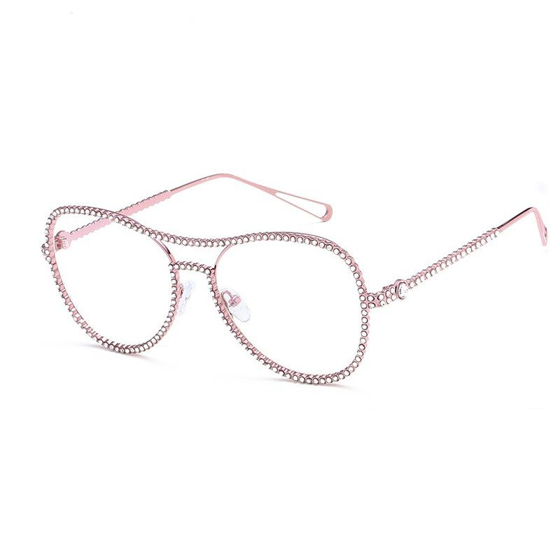 fe595aeb47 Fashion Women Glasses Frames Retro Eyeglasses Ladies Vintage Frame Clear  Lens Glasses  eyewear  accessories