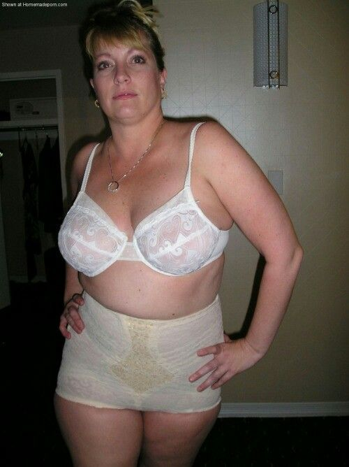 Bbw in white lingeries fucked by black date 5