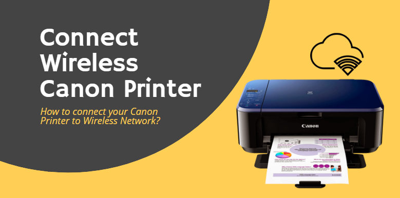How To Connect Your Canon Printer To Wireless Network Wireless Networking Wireless Printer Printer