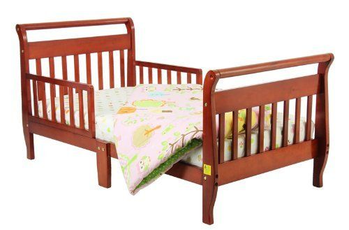 Dream Me Classic Sleigh Toddler Bed Cherry by Dream Me