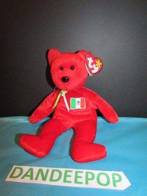 d8c3e1c140a TY Retired Beanie Baby Osito Mexican Bear Rare 1999 Ty  Ty  Beanie   beaniebaby  Osito  Mexican  Bear  BeanieBabie  dandeepop Find me at  dandeepop.com