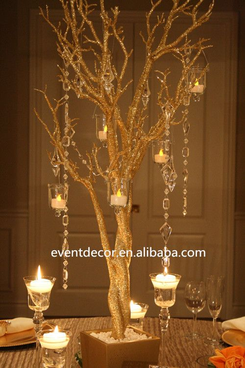 gold wedding tree branches for decorations find complete details about gold - Gold Decorations