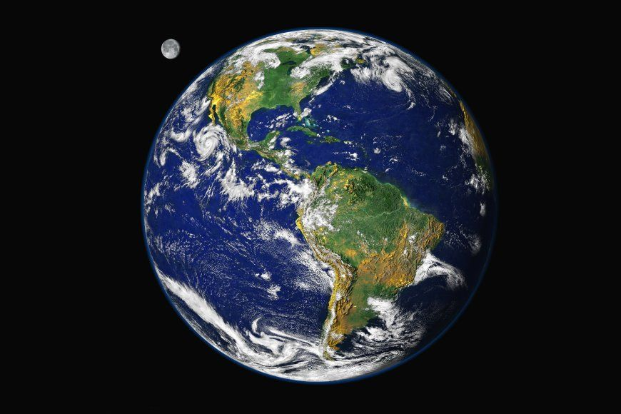 In 2000 NASA Produced The First Pictures Of Earth That Were Created Using Data From