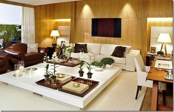 Como decorar uma mesa de centro salas pinterest for Como decorar sala grande