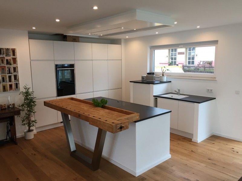 Pin von Küchen - Forum -) auf Fertiggestellte Küchen Pinterest - moderne kuche massivem eichenholz