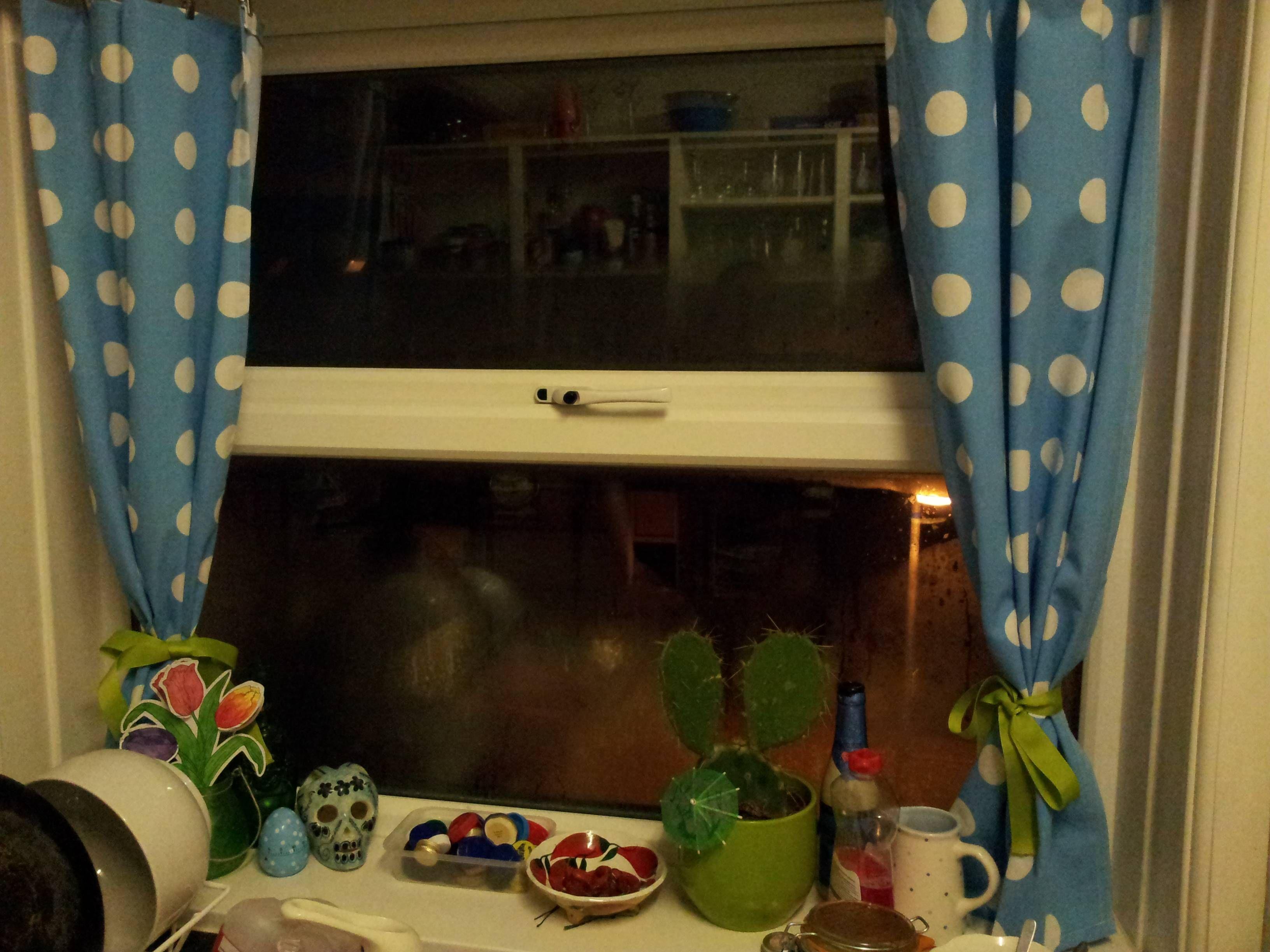 Spotty Kitchen Curtains | Home Design | Pinterest | Kitchen Curtains And  Kitchens