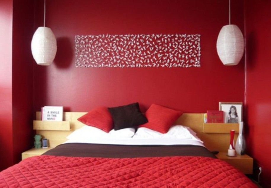 Awesome 15 Invigorating Red Bedroom Designs