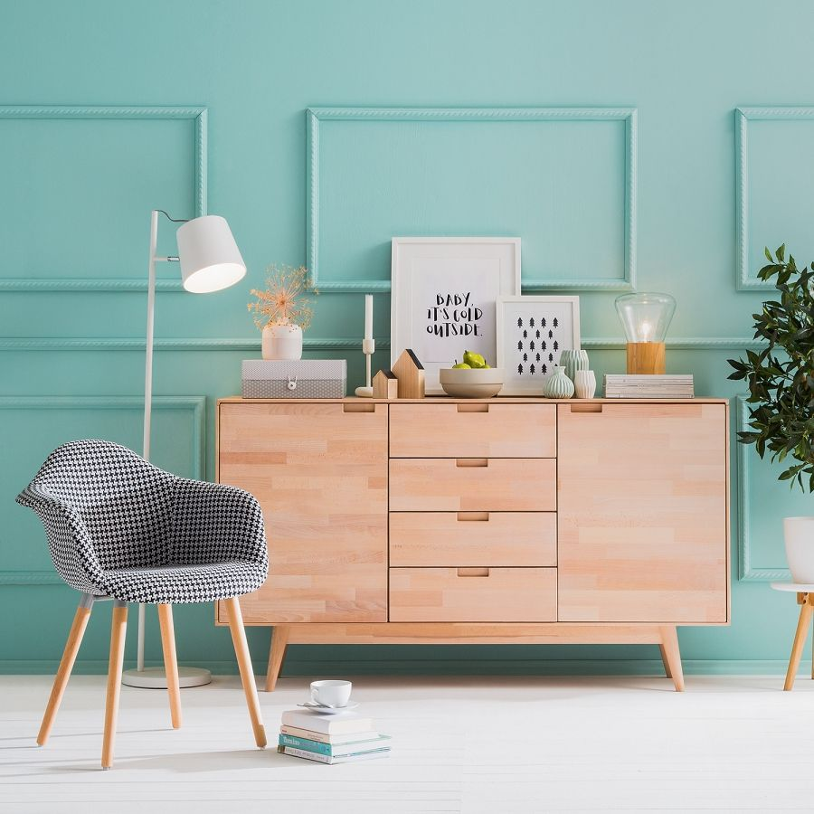 sideboard finsby wohnstil skandi pinterest wohnzimmer sideboard kommode und wohnstile. Black Bedroom Furniture Sets. Home Design Ideas
