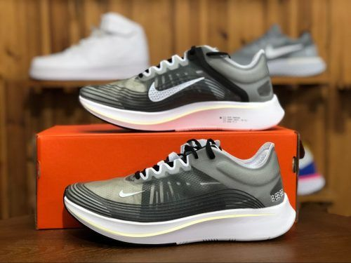 on sale 88cdd 11e6a Nike Zoom Fly SP Black White Light Bone AJ9282-001-1