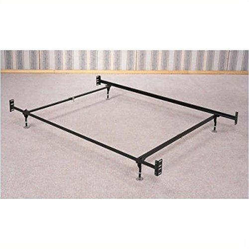 Coaster Bed Frame Rail For Headboard And Footboard With 5legs And