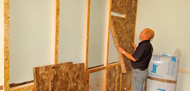 CosyWall In Wall Insulation Is A Multipurpose Product Designed To Provide  Thermal Wall Insulation U0026 Soundproofing