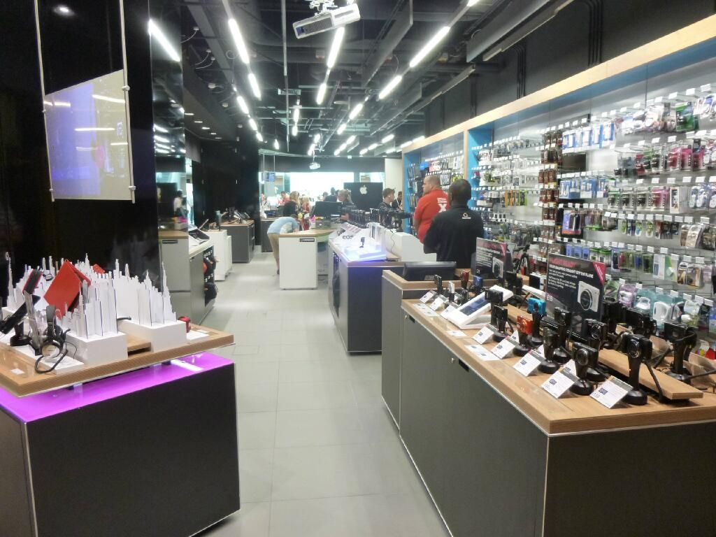 A view of the slick new interior of our Dixons Travel store