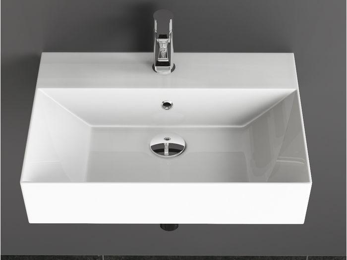 beschichtung waschtisch 60x42cm wei waschbecken - Luxus Hausrenovierung Doppel Waschbecken Design
