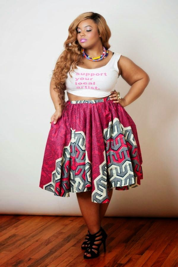 Fashion Geek How To Dress Your High Waist Skirt As A Plus Size