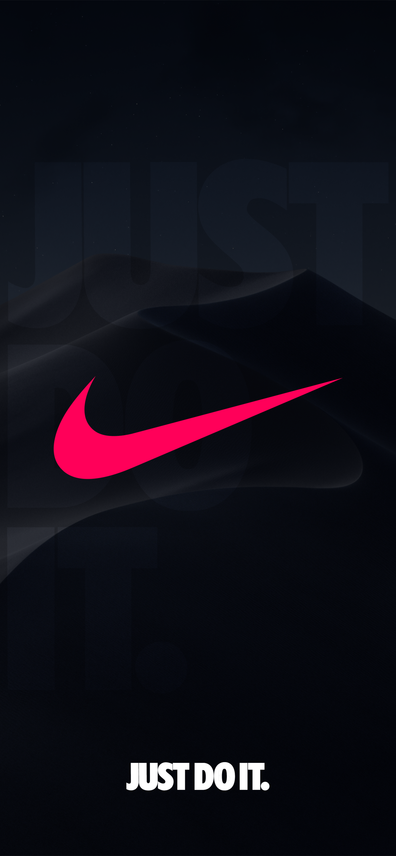 Nike Wallpaper Ios13wallpaper Nike Iphone X Series Wallpaper Ios 13 Wallpaper Dark Mo In 2020 Nike Logo Wallpapers Nike Wallpaper Backgrounds Nike Wallpaper Iphone