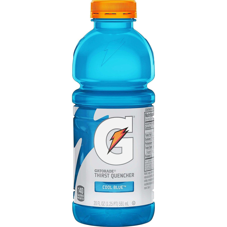 Gatorade Cool Blue (20oz / 24pk) in 2020 Sports drink