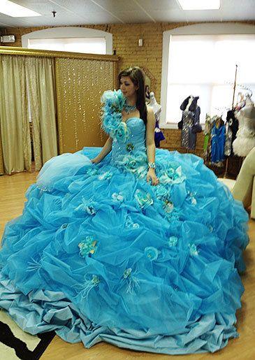 Eden can't believe just how huge her wedding dress is. | Dresses ...