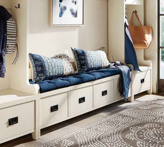wade bench cushion in 2019 storage bench cushions, bench, bed benchwade bench cushion pottery barn