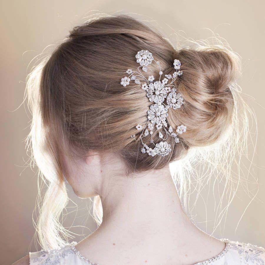 Handmade Annabel Wedding Hair Comb | Hair combs and Bridal hair
