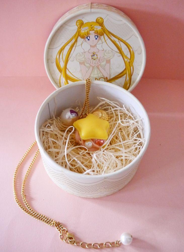 Sailor Moon Qpot Q-pot limited Usagichan Starry Night Macaron Necklace Japan 20 #QpotxSailorMoon