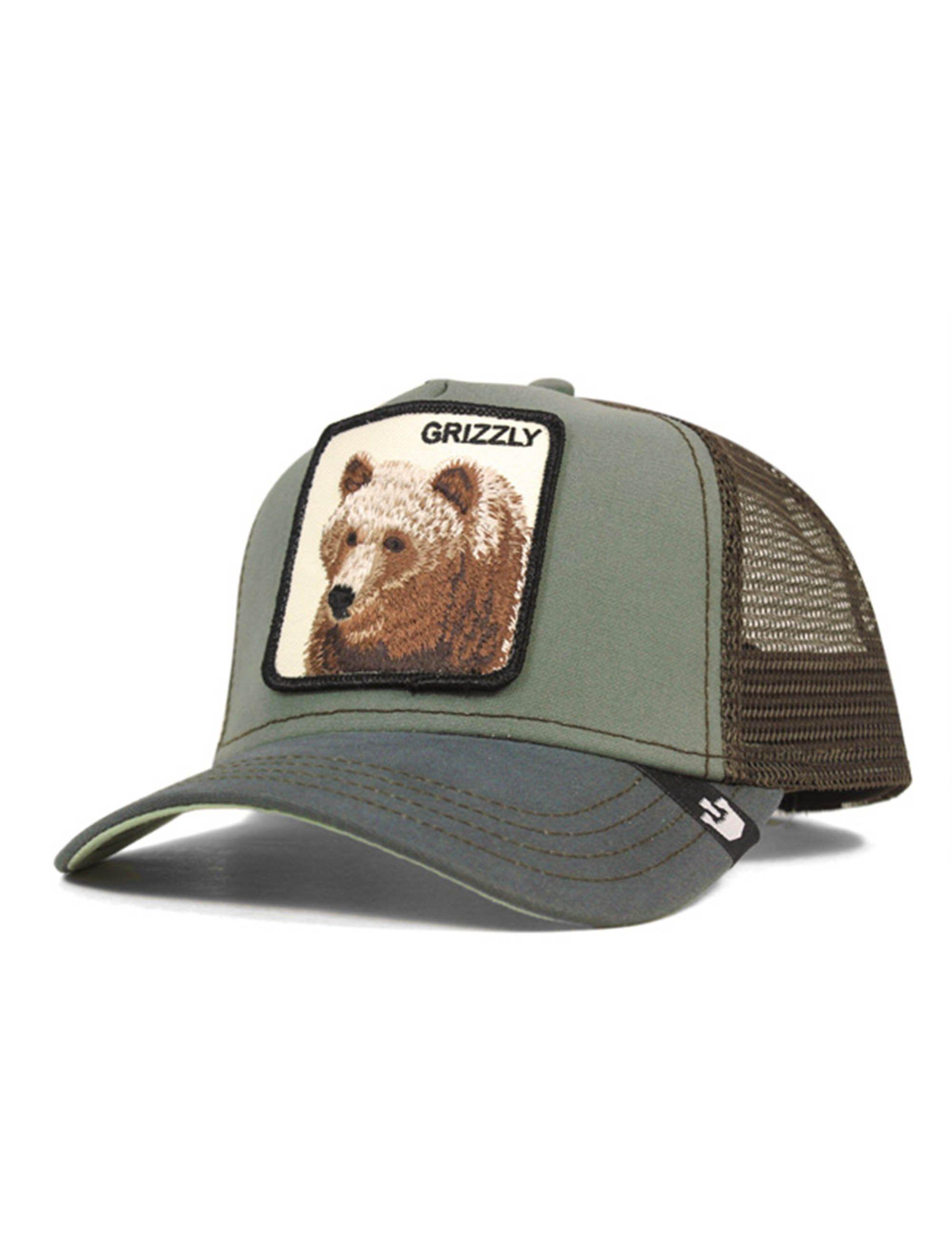 c703dec5 Goorin Bros Animal Farm Trucker Cap Grizz | Products | Cap, Baseball ...