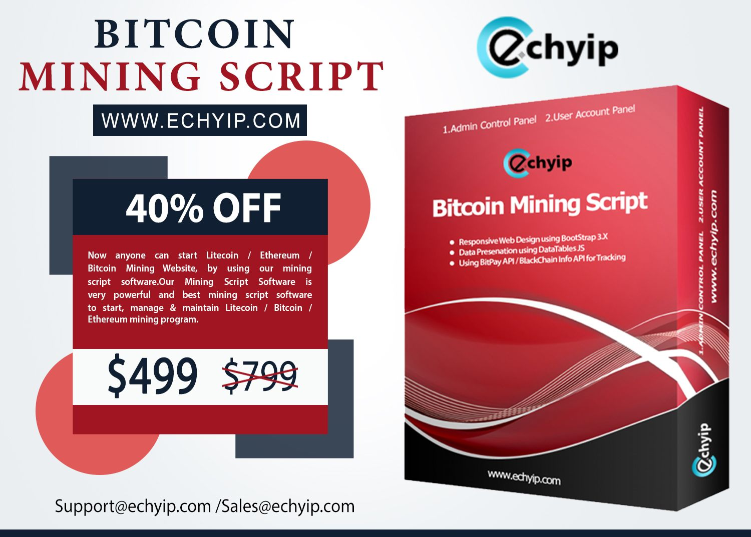Now, you can make a super-fast bitcoin mining website at a