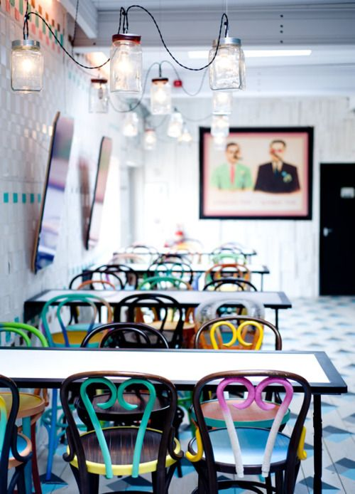 Mmm Para La Terraza Ethnic Style Dishoom Cafe Interior